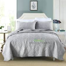 Cotton Coverlets And Quilts – boltonphoenixtheatre.com & ... Cotton Coverlets And Quilts Chausub 100 Cotton Quilt Set Soft  Embroidery Bed Cover Quilted Bedspread 3pcs ... Adamdwight.com