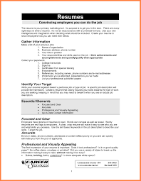Fine What Info Do U Need For A Resume Ideas Example Resume