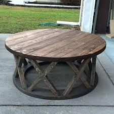 distressed round coffee table round distressed coffee table inspirational distressed round