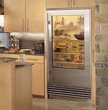 glass door refrigerator at best