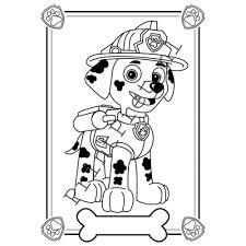 Paw Patrol Kleurplaten Printen