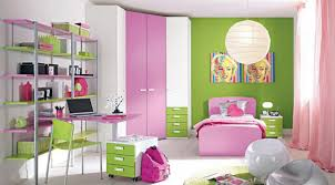 Purple And Green Bedroom Decorating Modern Green Wall Kids Bedrooms For Three That Can Be Decor With