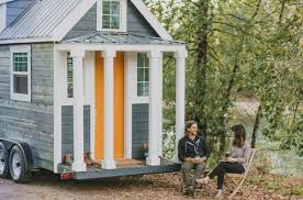 tiny houses portland or. Contemporary Houses After Facing Some Hefty Challengesu2014including Finding A Perfectly Tiny Door  For Their Firstever Houseu2014the Custombuild Tinyhouse Company Tiny Heirloom Has  For Houses Portland Or L