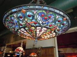 tiffany ceiling lights awesome chandelier ceiling lights stained glass chandelier small