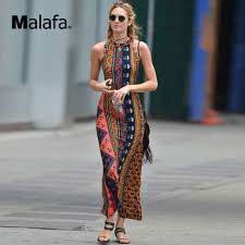 African Pattern Dress Mesmerizing Women Backless Bodycon Floral Print Dress Sexy Summer African Print