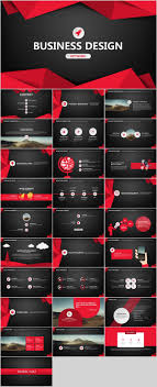 29 Red Black Business Plan Powerpoint Templates On Behance