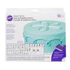 Wilton Decorating Tips Chart Wilton Master Cake Decorating Tips Set 55 Piece Cake