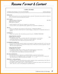 Bistrun Types Of Resume Formats Extraordinary List Of Different