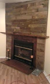 pallet fireplace surround pallet wall fireplace pallet wood fireplace surround