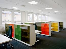 modern office design images. the cleanliness of lines allows colour to really funk up office without compromising modern design images