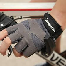 Sports <b>Fitness</b> Anti-sweat Anti-slip <b>Cycling</b> Breathable <b>Half Finger</b> ...