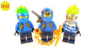 ALL LEGO NINJAGO SEASON 11 JAY MINIFIGURES - YouTube
