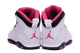 jordan shoes for girls black and pink. 2016 air jordan 10 gs vivid pink pure platinum/black-vivid pink-3 shoes for girls black and n