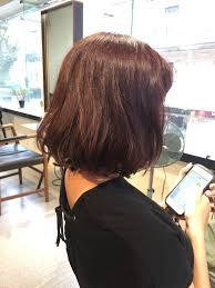 くせ毛のロングヘアを広がらないグラデーションベースのかわいい内巻き