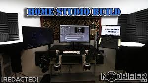 how to build diy home studio