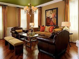 Orange Curtains Living Room Living Room Living Room Grey Fabric Sofa And Orange Grey