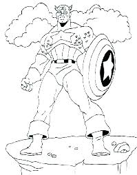 Marvel Avengers Coloring Pages At Getdrawingscom Free For