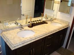 Rustic Granite Countertops Ivory Fantasy Granite With White Cabinets Countertops Vinyl Tile