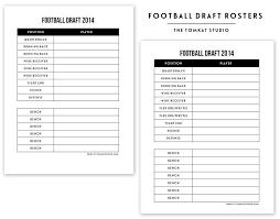 28 Fantasy Football Draft Spreadsheet Template Robertbathurst