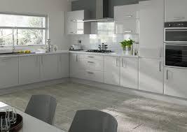 Brighton High Gloss Light Grey Kitchen Doors ...
