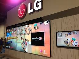 LG Interactive Video Wall