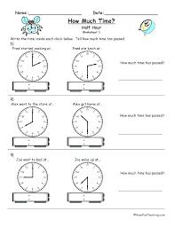 Educational Worksheets For 2 Year Telling Time Kids Tell Worksheet 3
