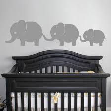 cute elephants family wall vinyl decal sticker elephants baby girls boys nursery wall art kids room on vinyl wall art boy nursery with cute elephants family wall vinyl decal sticker elephants baby girls