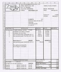 formato para facturas en excel factura pdf facturas facturacin facturacin electrnica ventas
