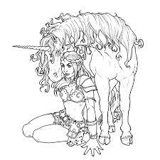 Een Eenhoorn Coloring Sketches Unicorn En Coloring Pages