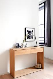 entryway tables and consoles. Minimalist Entryway Storage Console For Modern Interiors. Ethnicraft\u0027s Solid Oak Nordic Is Perfect As A Desk, Cabinet Or Table. Tables And Consoles