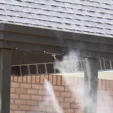 mist works gulf breeze high pressure residential misting system kit bbqguys