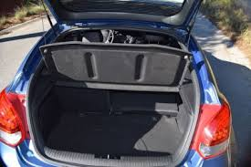 hyundai veloster interior trunk. much larger and more useful than the fiesta st or juke nismo handier easier to pack a focus too despite high load lip get over back hyundai veloster interior trunk r