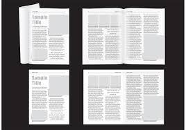 Minimal Magazine Layout Download Free Vector Art Stock Graphics