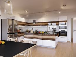 white fridge in kitchen. full size of kitchen:design snazzy home interior with black dining table silver fridge brown large white in kitchen