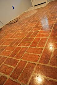 Old Red Brick Linoleum Flooring Red Brick Vinyl Flooring Floor