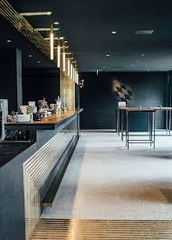 restaurant bar lighting. build inc architects adds brass restaurant bar lighting