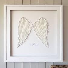 framed wings of love 3d artwork