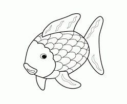 Printable 17 Rainbow Fish Coloring Pages 5144 - Rainbow Fish ...