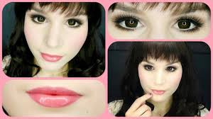 cute everyday doll makeup