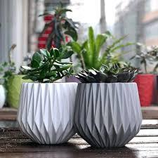 decorative planter pots garden ceramic flower plant