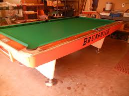 1960 brunswick gold crown 3300 1960 s gold crown one pool table