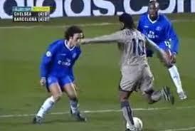 Ronaldinho Goal for Barcelona v Chelsea | UCL - Stamford Bridge 2005 -  Vidéo Dailymotion