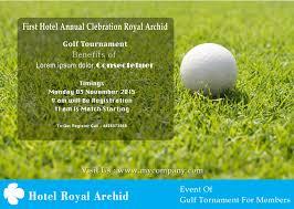 golf tour nt flyer templates fundraiser charity golf flyer template 9