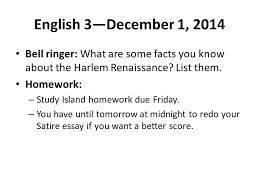 english bell ringer what are some facts you  1 english