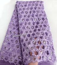 Popular <b>Sequin</b> Embroidery <b>Tulle French</b> Lace Purple-Buy Cheap ...