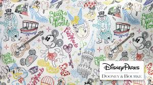 Disney Patterns Inspiration Take A Walk In The Park This Summer With New Dooney Bourke