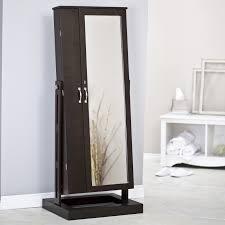 mirror armoire. belham living bordeaux locking cheval mirror jewelry armoire | hayneedle .