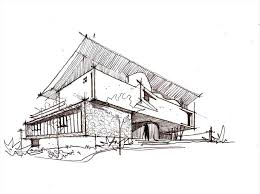 modern home architecture sketches. Beautiful Modern Modern Home Architecture Sketches Drawing Houses House Perspective Floor  Plans Design Architectural Amazing Bungalow Industrial With Photos And Designs Open  Intended