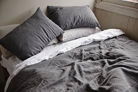 gray linen duvet cover linen duvet cover set sweetgalas