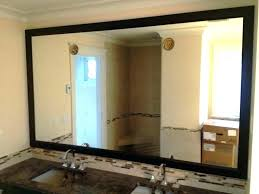 wood framed bathroom mirrors. Framing A Mirror With Wood Wooden Framed Bathroom Mirrors Reclaimed M